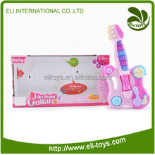 Baby toy electric cartoon guitar plastic toy guitar for kids