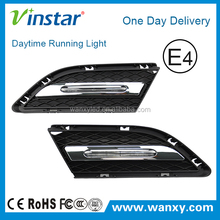 Exact Fit 12W High Power LED Daytime Running Lights Assembly For 2009-2012 BMW E90 LCI 3-Series Sedan