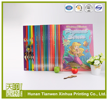 Eco-friendly paper and ink fashionable full color children book printing