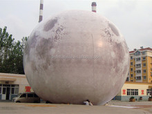 Customize 14M inflatable moon for event decoration,inflatable moon ball