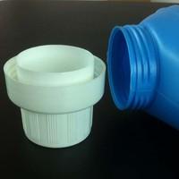 Guangzhou plastic liquid laundry detergent bottle cap measuring manufacturer