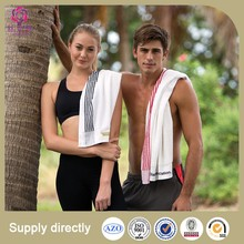 China Factory Custom Cotton Soft Sweat Drying Towel for Women/men/couples
