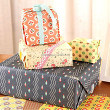 Factory design wholesale gift wrapping custom color logo printed paper