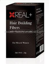 Effective make thicker, fuller hair REAL PLUS Hair Building Fibers