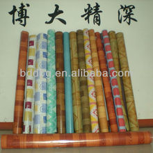 PVC flooring roll/pvc roll felt floor covering/commercial