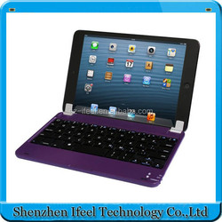 for ipad mini bluetooth keyboard,ultra slim aluminum wireless bluetooth keyboard for mini ipad