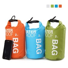 Hot Ultralight Camping Waterproof Bag Swimming Sack Rafting PVC Dry Bags for Sport Water Proofing With Roll Top Shoulder Straps