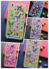 Hotsell Customized Liquid Floating Glitter Stars Hard PC Case Cover For IPhone 6 Case Manufacture