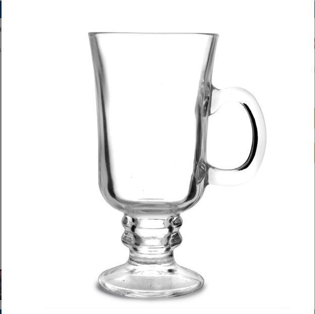 pieds irlandais caf tasses tasses cappuccino liquide cristal verre caf tasse tasse en verre. Black Bedroom Furniture Sets. Home Design Ideas