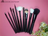 OUNA China supplier novelty 10 pcs Top selling makeup brushes free samples