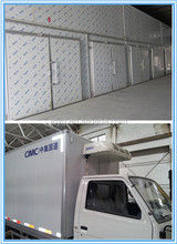 Factory supply refrigerated cold room van truck,cold room for truck