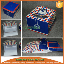 cmyk printing paper boxes for cake carrying