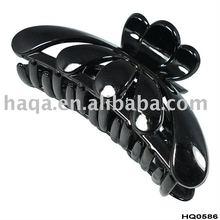 Cheap plastic hair claw clips