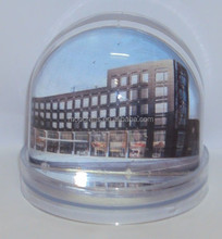 OEM Plastic photo snow globe