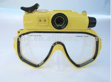 underwater digital camera HD WP720 mask with LCD Screen 30meter diving oem factory