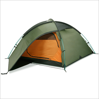 Single skin 2 person ultra light tents
