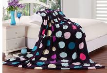 Anti piling printing patterned polar fleece fabric for blanket