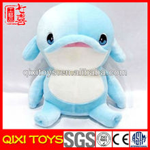 High quality promotion soft plush toys dolphin