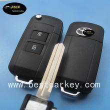 Auto key blank, car key blank, blank key for Toyota 2 buttons