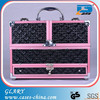 Latest professional aluminum hard makeup train case