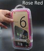 for iPhone 6plus/6s plus Ultra Thin Aluminum no screw Frame Case Bumper
