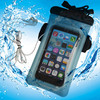 waterproof cell phone bag with neoprene armband and earphone jack