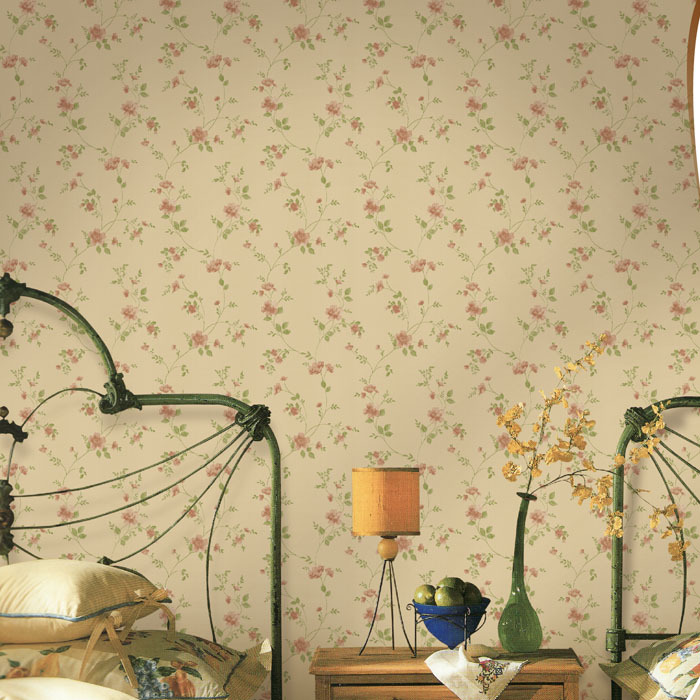 High Quality Myhome Wallpaper Classic Wall Paper Country Style ...