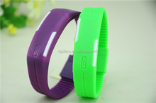 2015 hot selling promotional high quality LED digital Silicon Jelly watches
