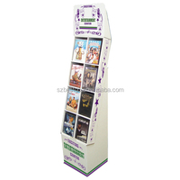 promotional cardboard cell phone case display rack