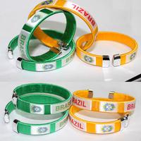 2014 Brazil National Flag Bracelet Football World Cup