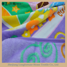 100%polyester super soft hot sales Manufactory wholesale cuddly baby security blanket