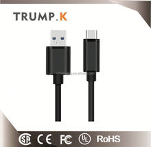 China Wholesalers 3.1 USB Type C to micro 5 pin usb 3 a current permit