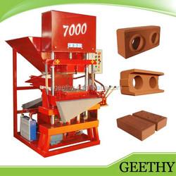 Eco 7000 brick machine ftor cement factory