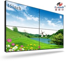 "With Imported original Korea Samsung DID panel 55"" tiled video wall with super narrow seamless bezel 5.3mm in 3x3 lcd video wall"