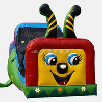 Happy Caterpillar - Commercial Wet and Dry Combo Bouncer