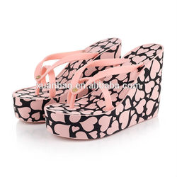 Guangzhou factory supply summer fashion sexy women high-heeled slippers for wholesale