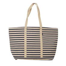2015 Wholesale extra large custom heavy duty cotton canvas shopping tote bag