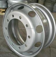 8.5- 22.5 truck aluminum wheels / truck alloy wheels with 8 holes