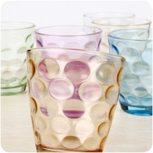 J545 color whisky glasses /beer cup/drinking glass for promotion