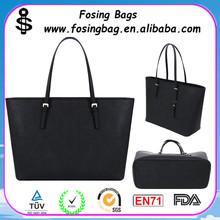 hot sale elegant women large leather tote bag