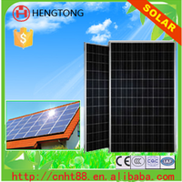 hot sale sunpower pv solar panel price 300w with ce