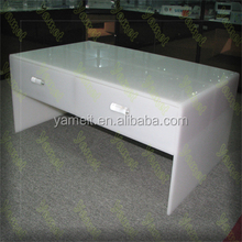 New product Acrylic furniture good design used school bench tea table