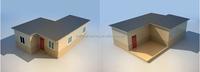 modern durable economic light steel prefabricated/modular house/home