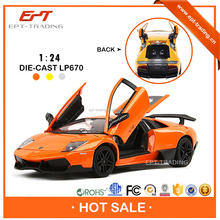 Top quality Licensed 1 / 24 diecast model car toys