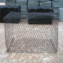 Hot sale stainless steel wire gabion mesh box / gabion wall texture