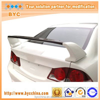 BYC Good Looking FRP Car Spoiler For Honda Civic Mugen Style Middle Carbon Fiber Car Rear Spoiler, Fit 2006-2008