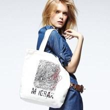 fashion custom print Environmental friendly cloth durable cotton cavans tote bag/large shopping bag