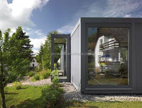 Metal builing material steel container home prefab houses for living