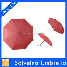 21 inches 3 folding 8 k cheap umbrella for wholesale customized design the color