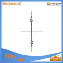 YW Forge iron parts / wrought iron bar for indoor stair / Ornamental Forged Iron